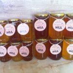 Продавам натурален пчелен мед